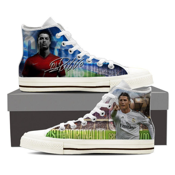 cristiano ronaldo ladies high top sneakers