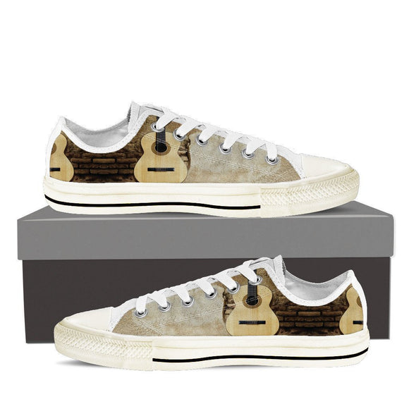guitar  ladies low cut sneakers