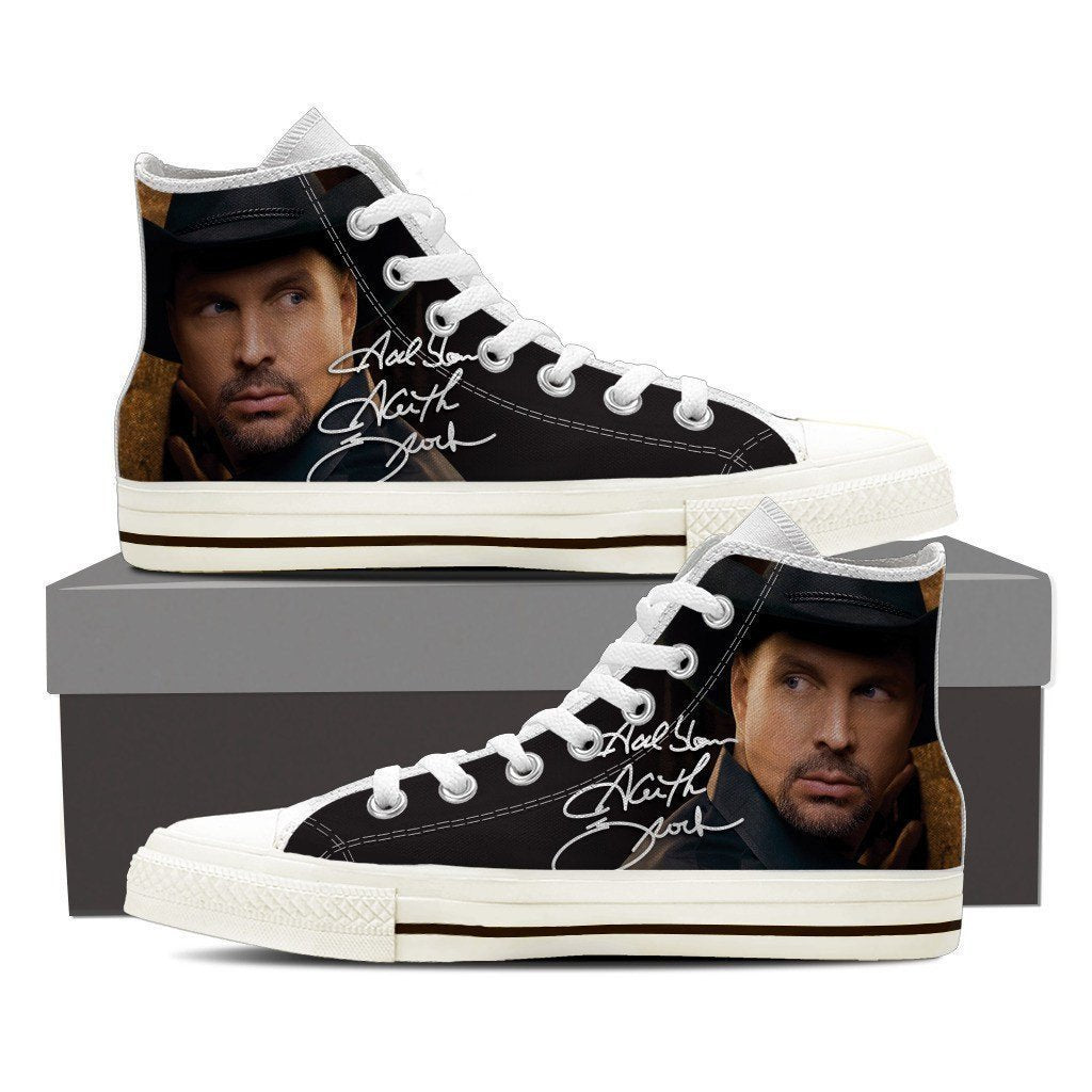 garth brooks mens high top sneakers