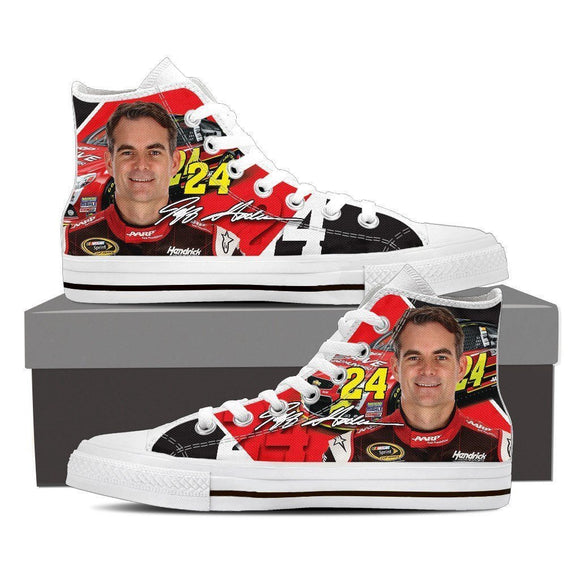 jeff gordon mens high top sneakers