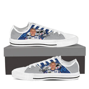 clint bowyer ladies low cut sneakers