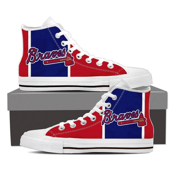 atlanta braves mens high top sneakers