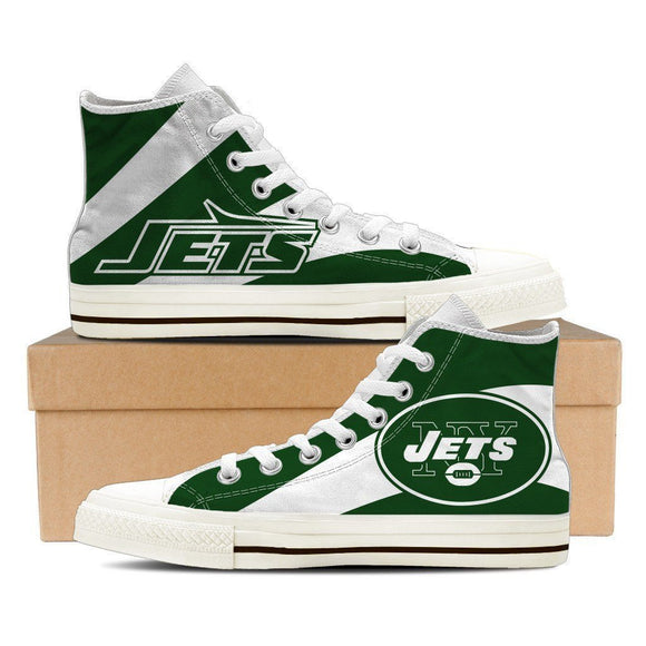 new york jets ladies high top sneakers