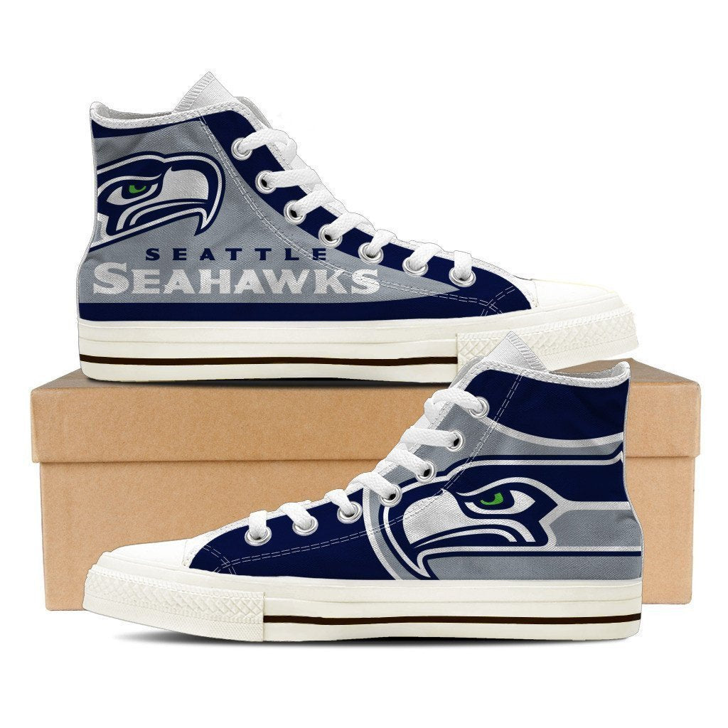 seattle seahawks mens high top sneakers high top 1