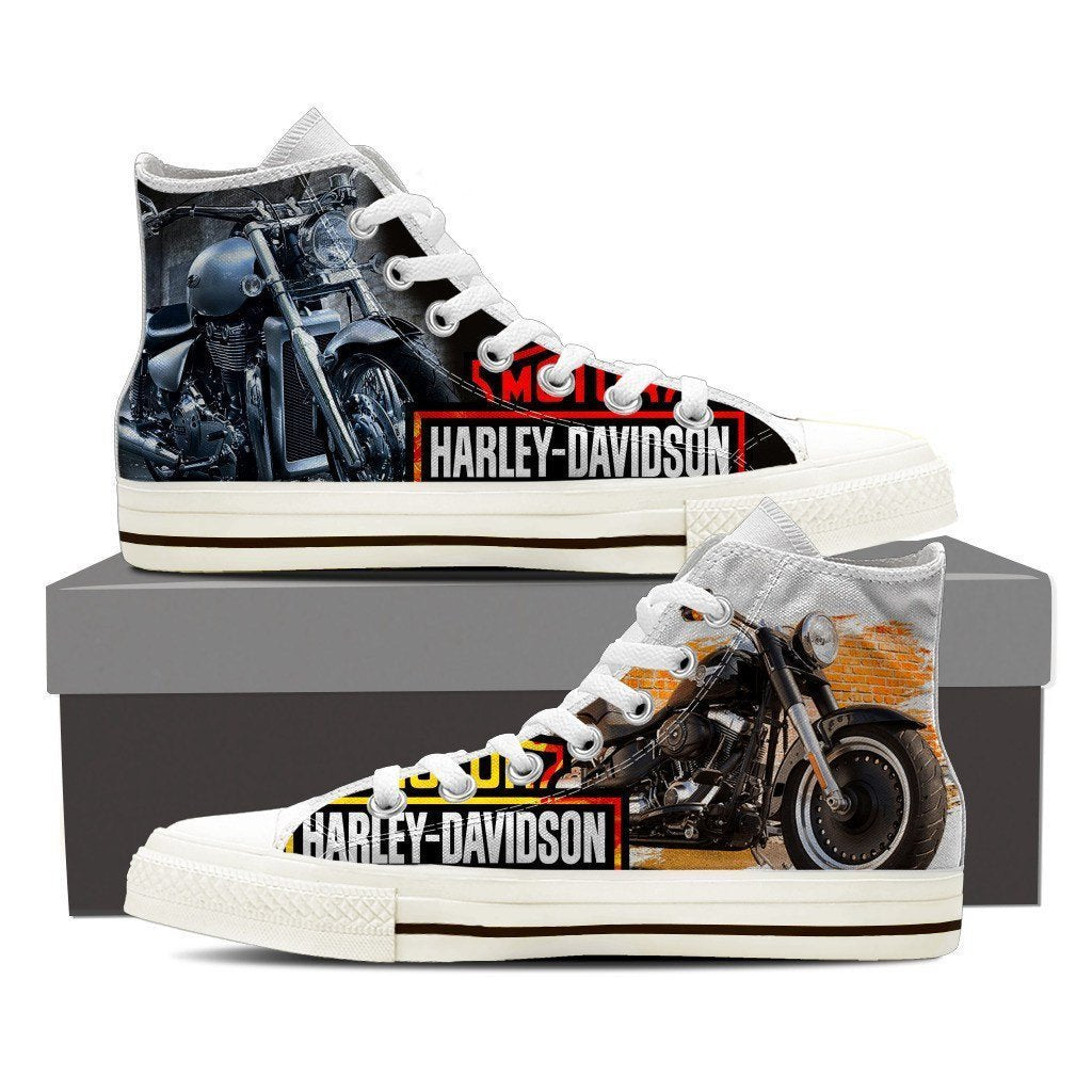 harley davidson ladies high top sneakers