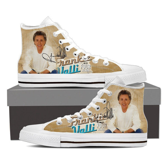 frankie valli ladies high top sneakers