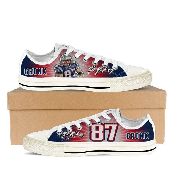 rob gronkowski mens low cut sneakers cut