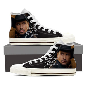 garth brooks ladies high top sneakers