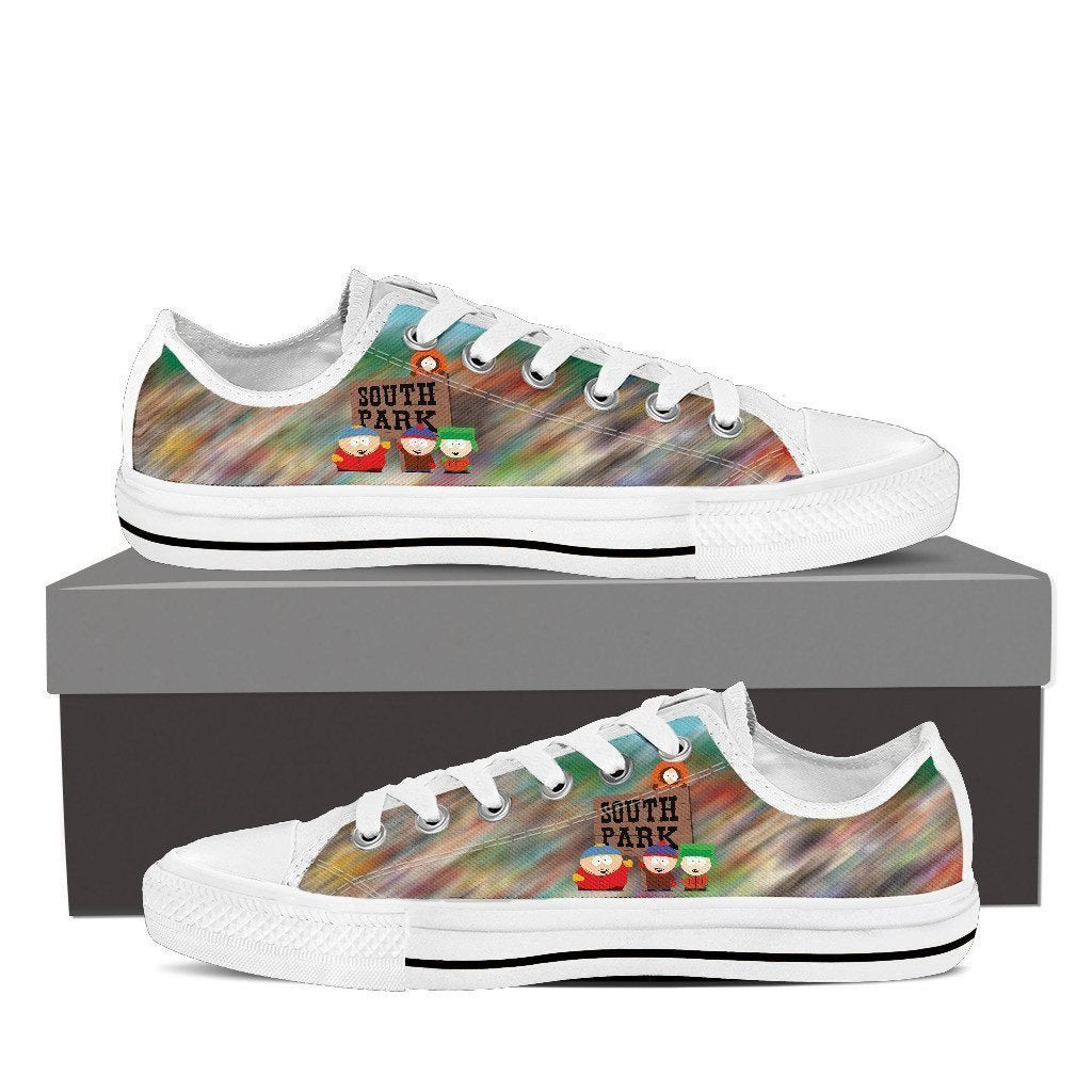 south park ladies low cut sneakers