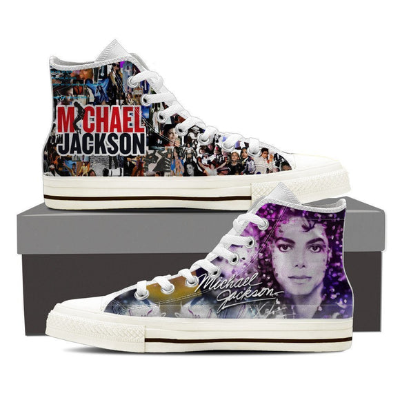 michael jackson mens high top sneakers high top