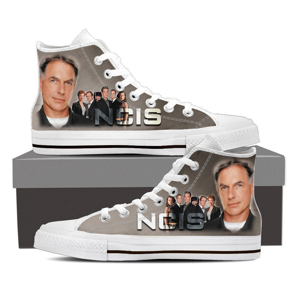 ncis mens high top sneakers