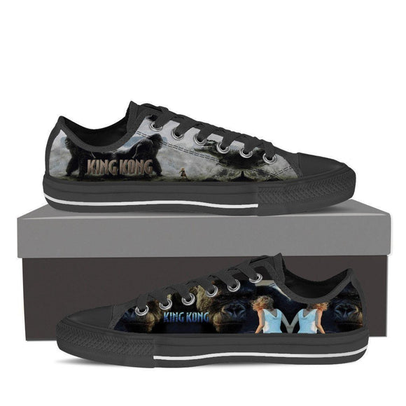 king kong ladies low cut sneakers