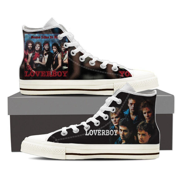 loverboy ladies high top sneakers