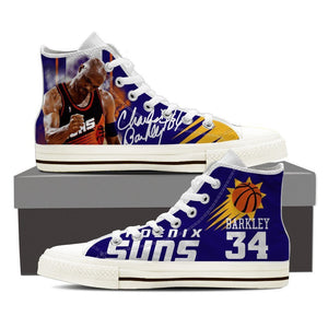charles barkley ladies high top sneakers