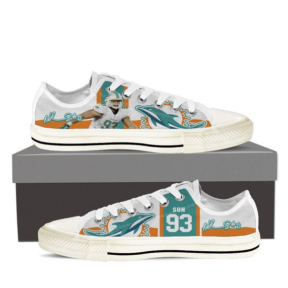 ndamukong suh mens low cut sneakers cut