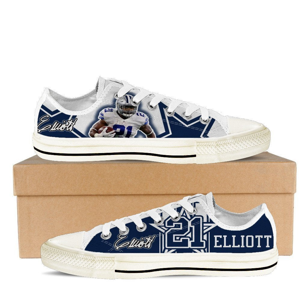 ezekiel elliott mens low cut sneakers cut