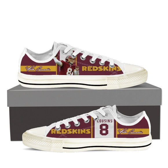 kirk cousins ladies low cut sneakers