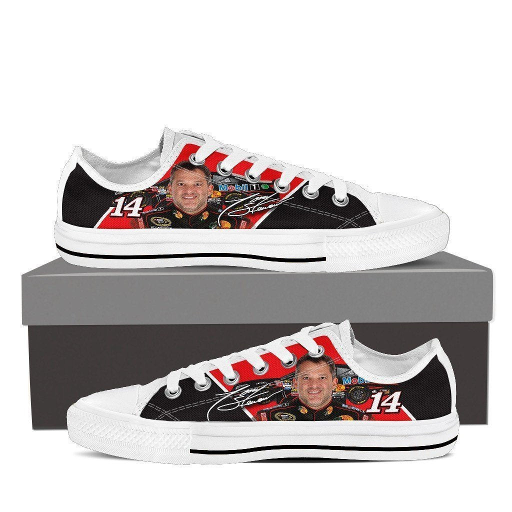 tony stewart mens low cut sneakers