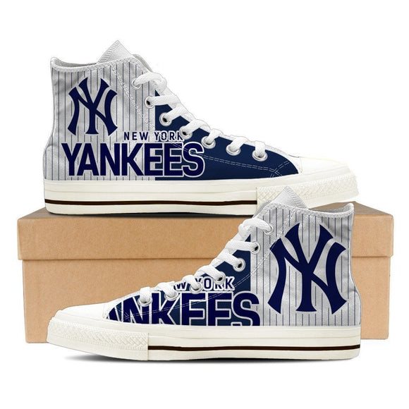 new york yankees mens high top sneakers high top
