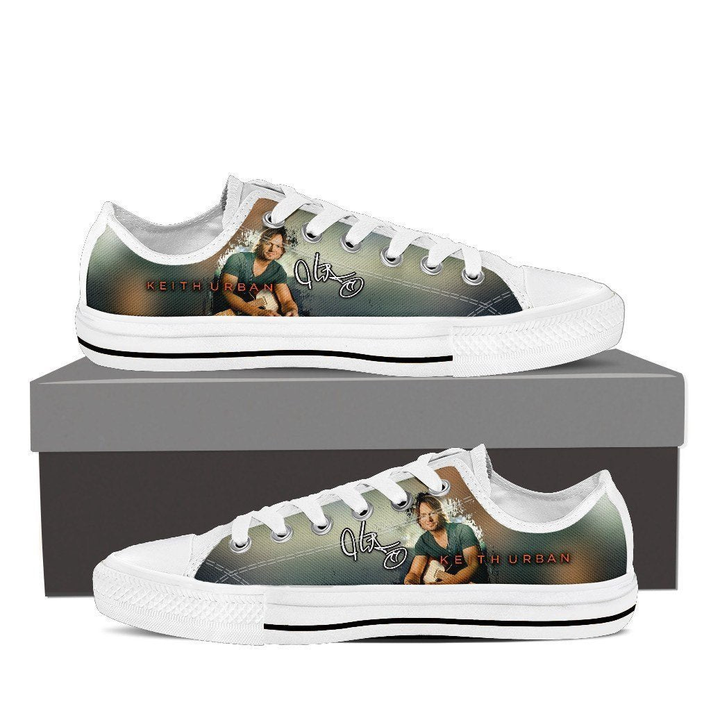 keith urban ladies low cut sneakers