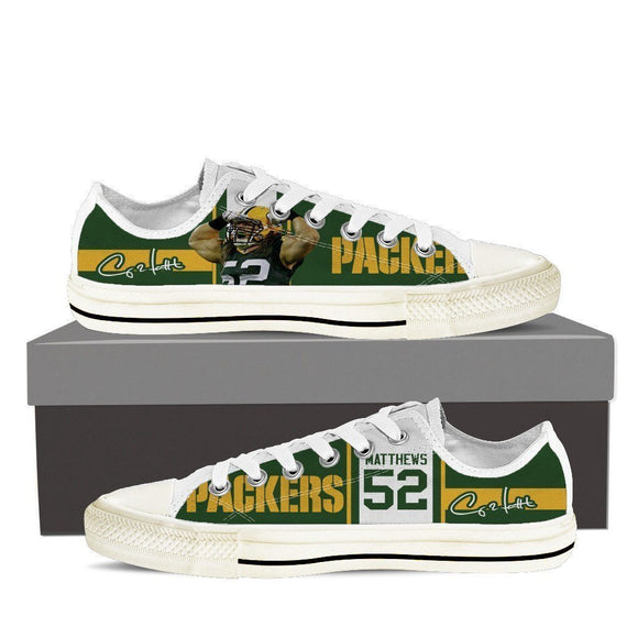 clay matthews ladies low cut sneakers