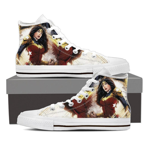 amazing ladies high top sneakers