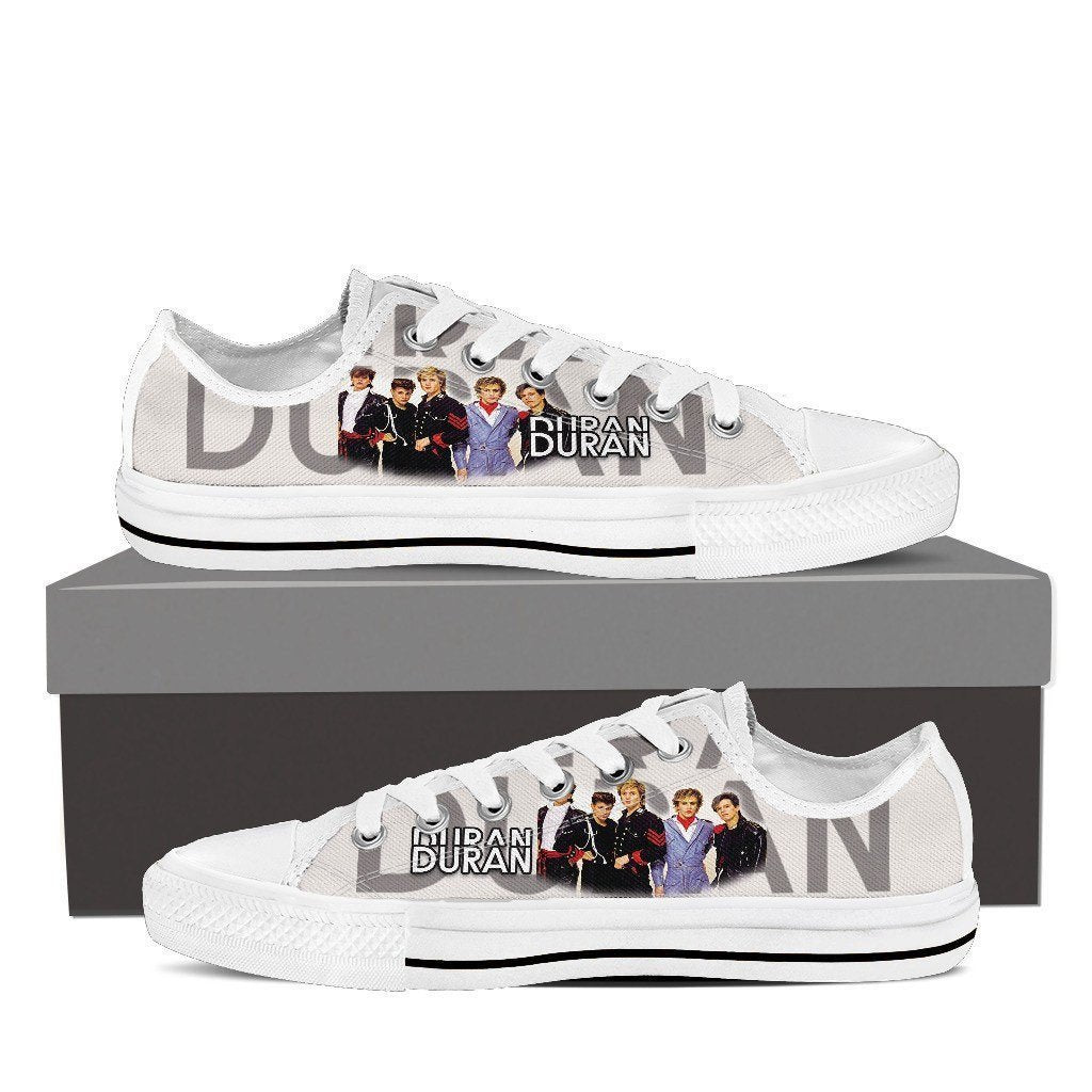 duran duran ladies low cut sneakers