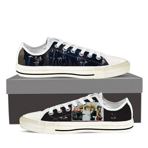 x japan mens low cut sneakers