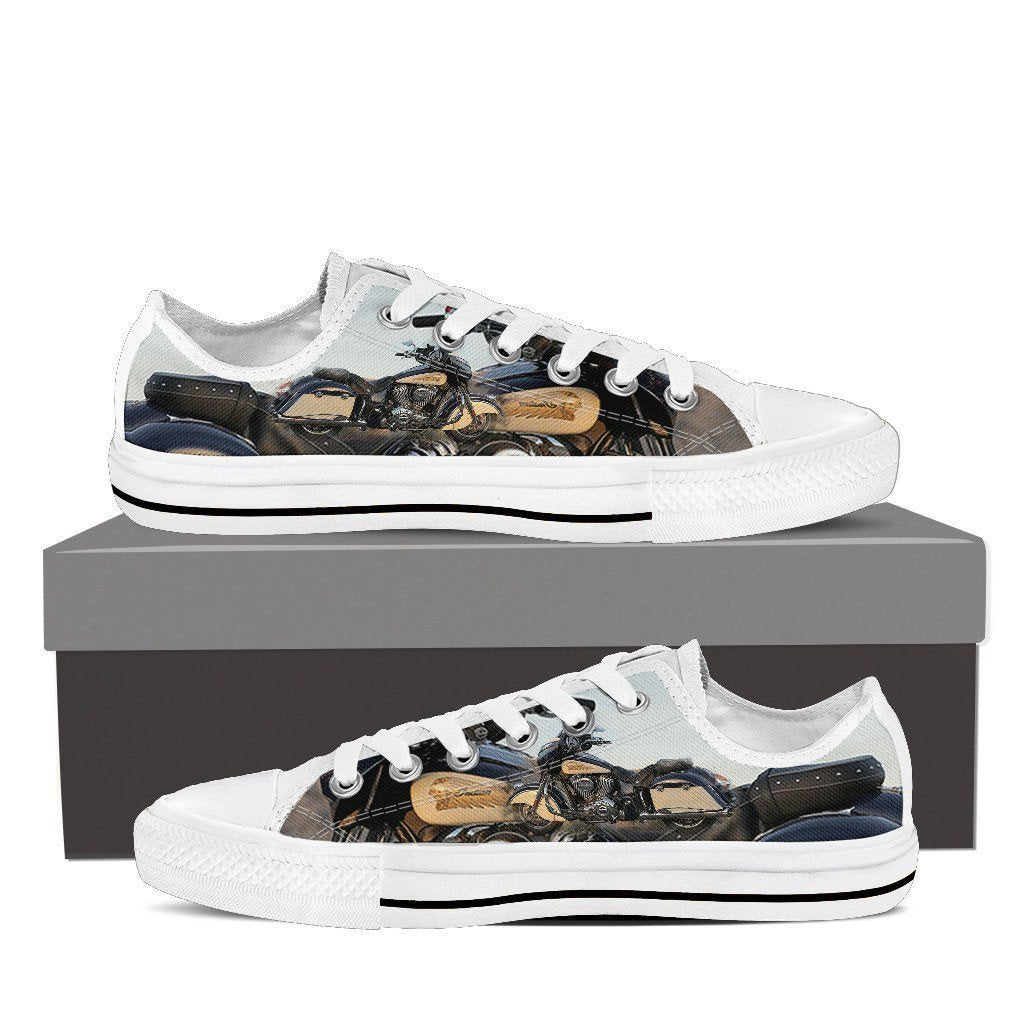 new indian motorcylce ladies low cut sneakers