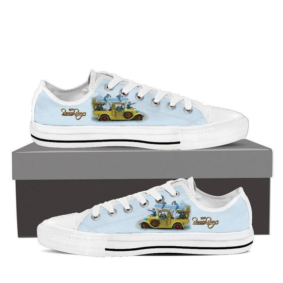 the beach boys ladies low cut sneakers