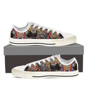jerry garcia signature mens low cut sneakers
