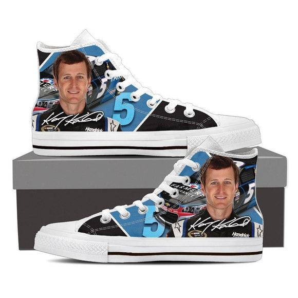 kasey kahne mens high top sneakers