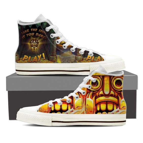 temple run ladies high top sneakers