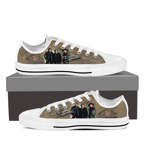 the doobie brothers ladies low cut sneakers