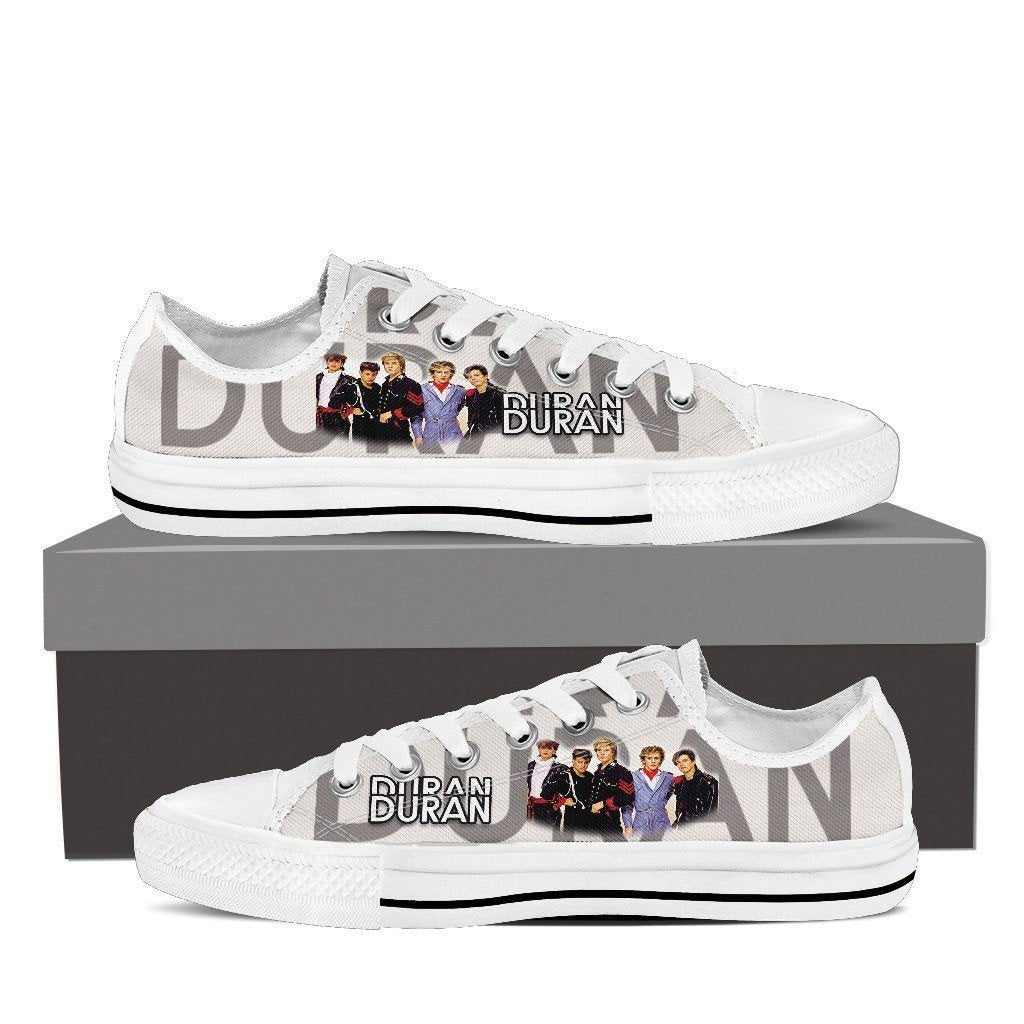 duran duran new mens low cut sneakers