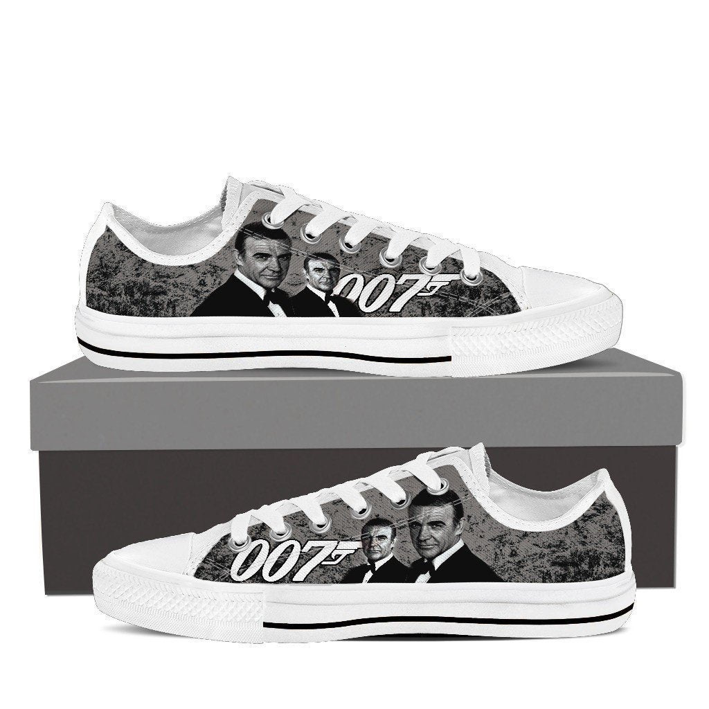 sean connery mens low cut sneakers