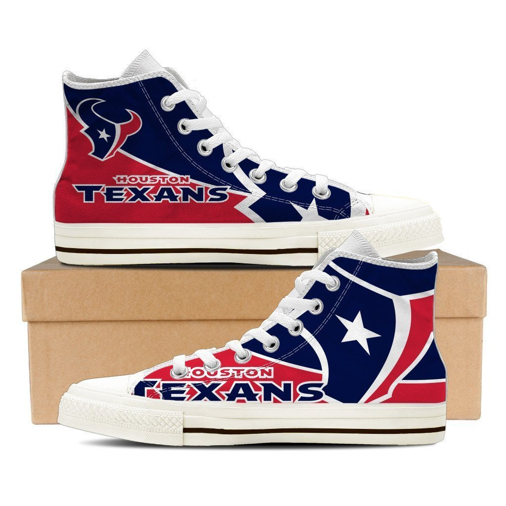 houston texans ladies high top sneakers