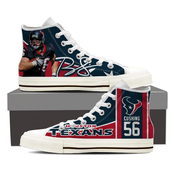 brian cushing mens high top sneakers high top