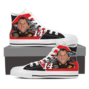tony stewart ladies high top sneakers