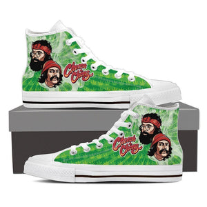 cheech and chong mens high top sneakers