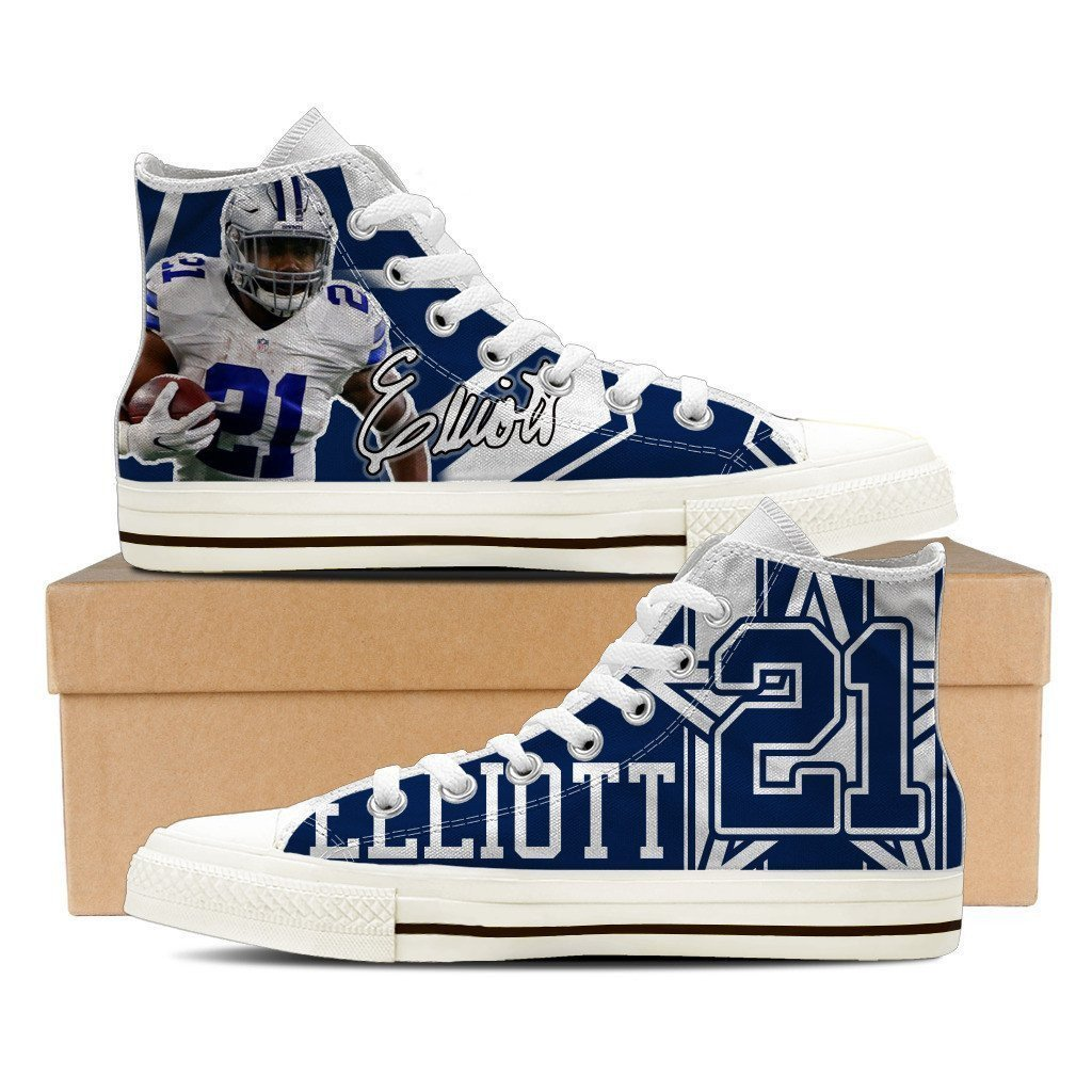 ezekiel elliott mens high top sneakers high top