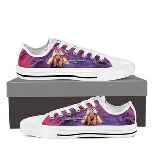 bret michaels ladies low cut sneakers