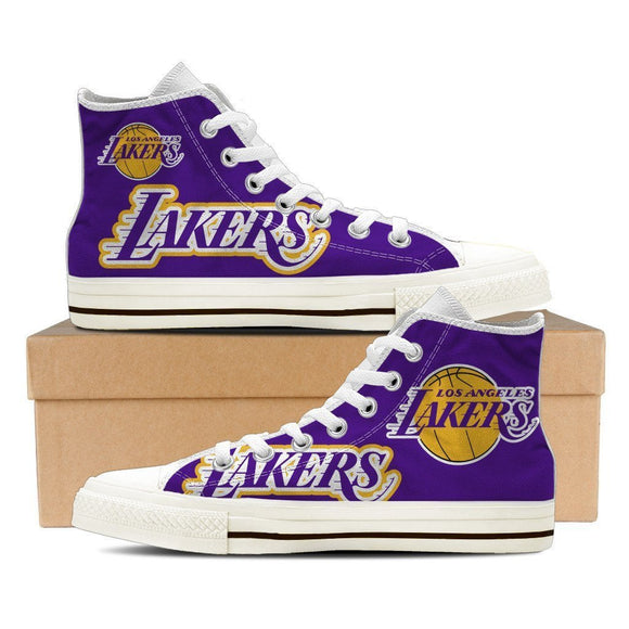 los angeles lakers mens high top sneakers high top