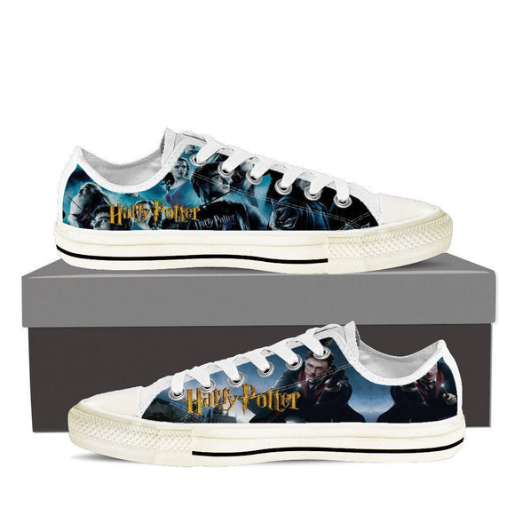 harry potter ladies low cut sneakers
