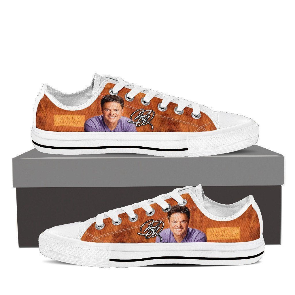 donny osmond mens low cut sneakers