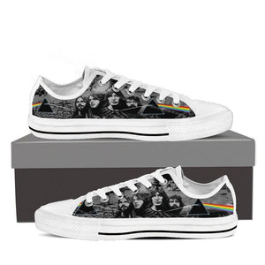 pink floyd new ladies low cut sneakers