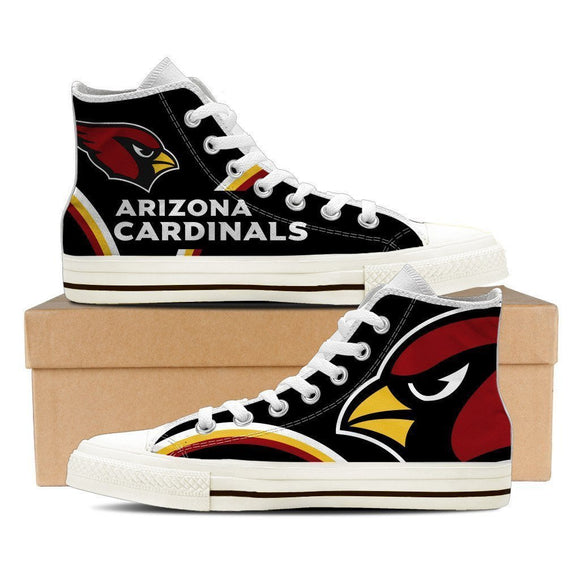 arizona cardinals ladies high top sneakers