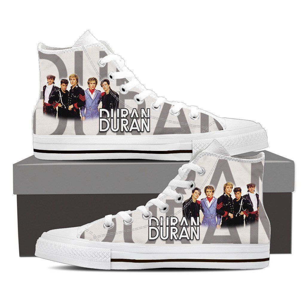 duran duran new ladies high top sneakers