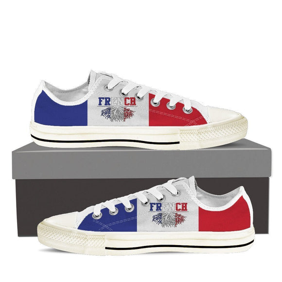 french roots new ladies low cut sneakers