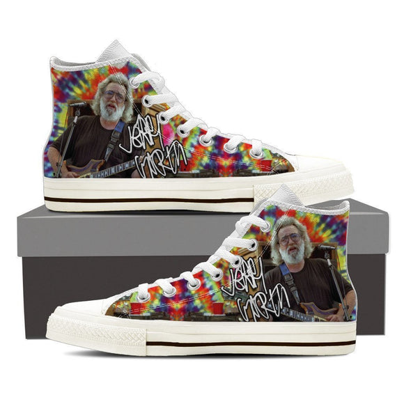 jerry garcia signature ladies high top sneakers